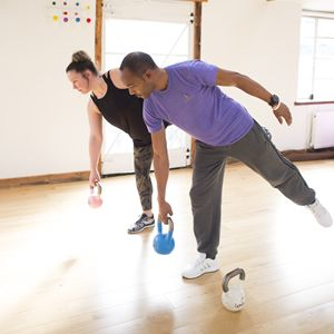 Training Points kettle bell, personal training, fitness classes Crystal palace
