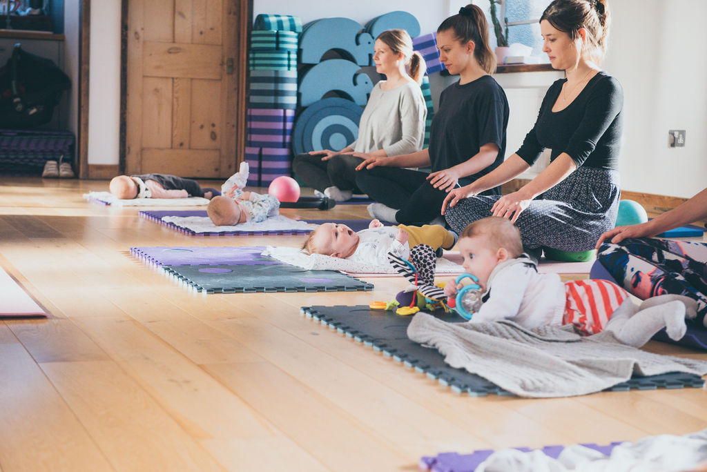 Post Natal Pilates With Baby