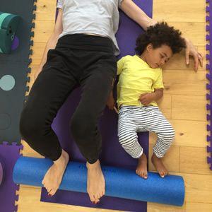 Parent Toddler Pilates